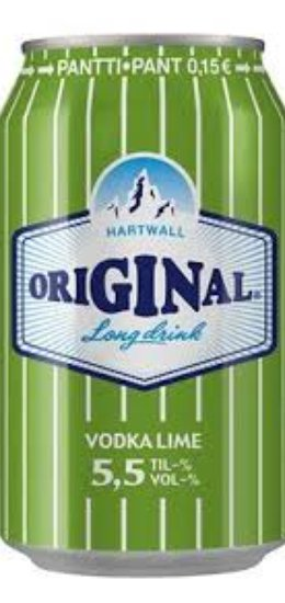 Hartwall original lime 5,5%
