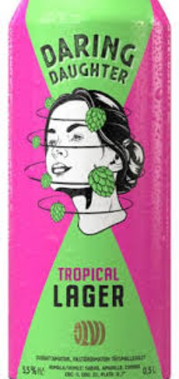 Daring Daughter Tropical lager 5,5%